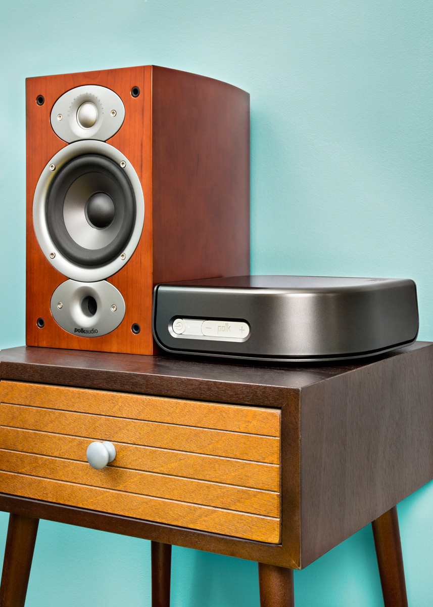 Wireless stereo system Polk Audio RTi A1 (RTiA1) bookshelf ...