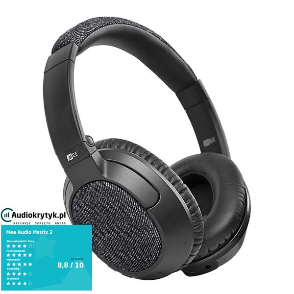 mee audio matrix3 matrix 3 af68 af 68 stereo bluetooth wireless headphones with headset. Black Bedroom Furniture Sets. Home Design Ideas