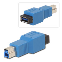Lindy 71277 USB 3.0 Adapter, USB A Female to B Female price - RMS ...