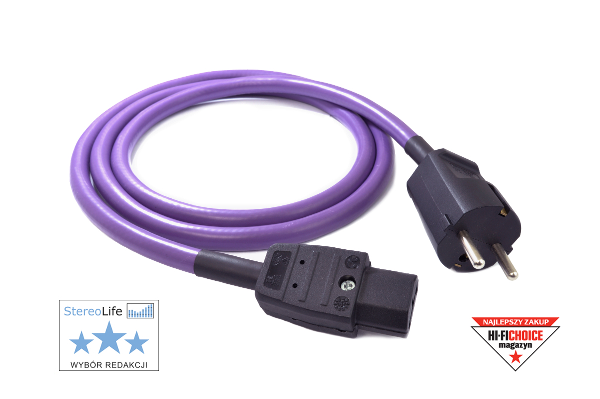 WIREWORLD Stratus 7 Power Conditioning Cord IEC//US 2 Meters