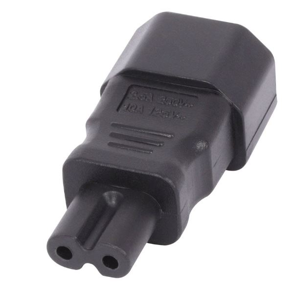 2m LINDY IEC C14 Plug to Figure 8 Connector